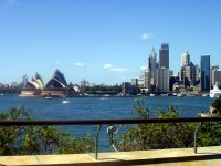 Sydney Skyline Kirribilli View